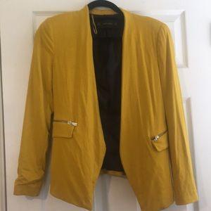 Zara Yellow Blazer - Small.